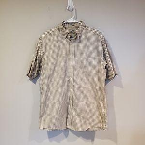 L.L. Bean Wrinkle Free Short Sleeve Regular Medium